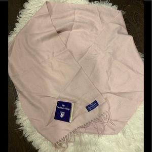 The Cashmere Shop 100% cashmere scarf
